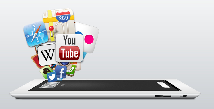 Ipad and logos